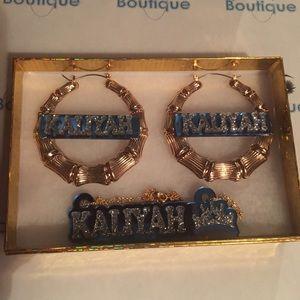 Jewelry - Nameplate set